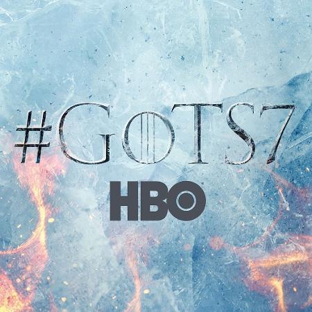 """Cartaz da nova temporada de """"Game of Thrones"""", série da HBO, controlada pela Time Warner - Divulgação/HBO"""