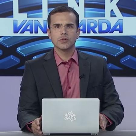 Telejornal da TV Vanguarda anuncia morte de pedestre - Reprodução/TV Vanguarda