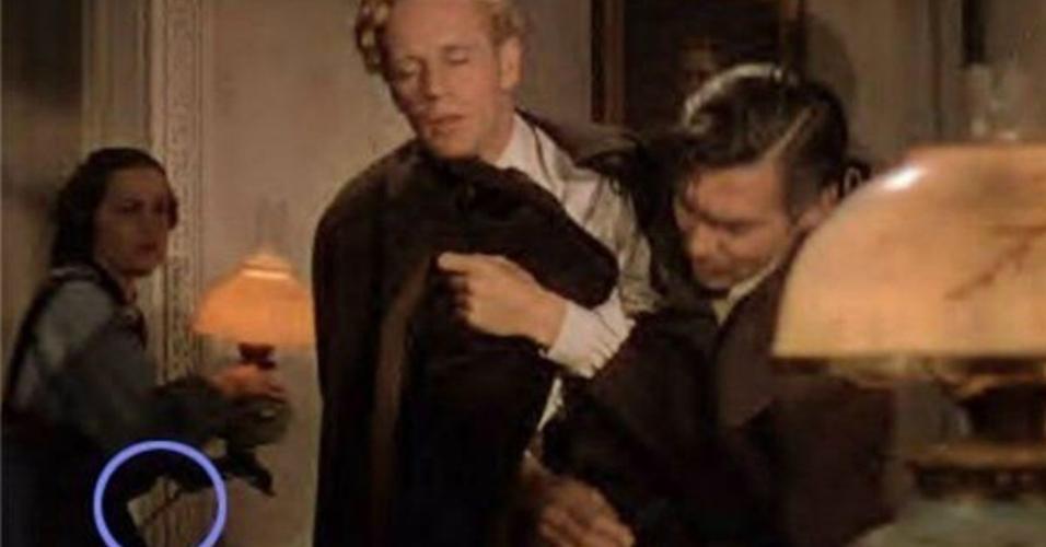 """Cena do filme """"...E o Vento Levou"""" (1939)"""