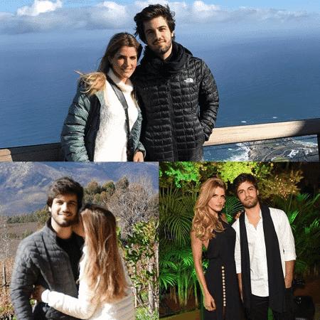Carol Magalhães e o filho Eduardo - Reprodução/Instagram/carolmagalhaes