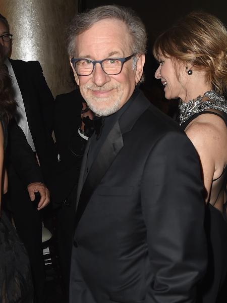 Steven Spielberg chega ao Globo de Ouro 2018 - Getty Images