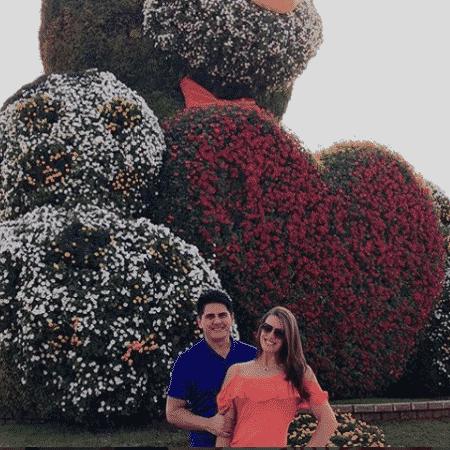 Cesar Filho e Elaine Mickely curtem Dubai - Reprodução/Instagram/cesarfilho