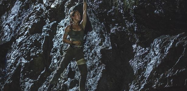 "Alicia Vikander é Lara Croft em ""Tomb Raider"""