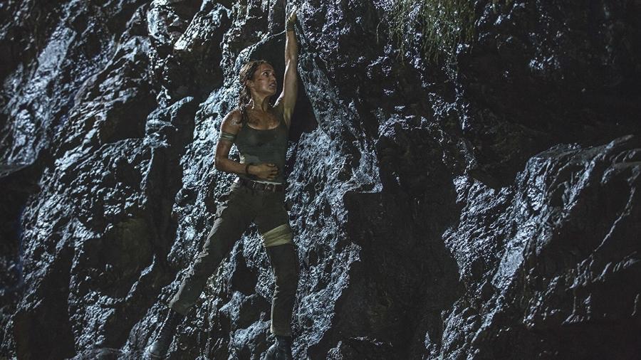"""Alicia Vikander é Lara Croft em """"Tomb Raider"""" - Divulgação"""