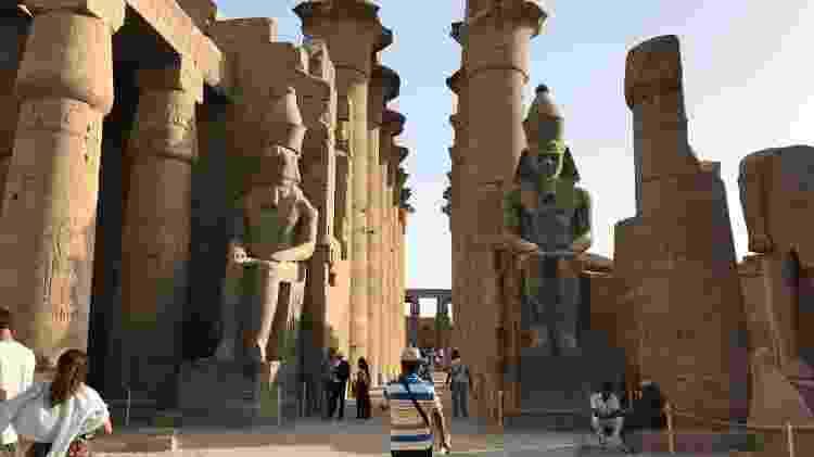 Os templos de Luxor - Ricardo Ribeiro/Colaboração para o UOL