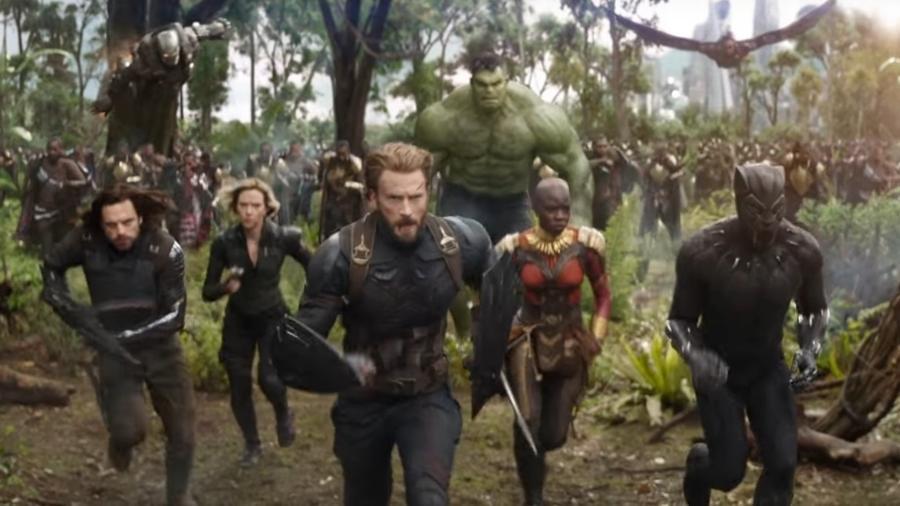 """Teaser do filme """"Vingadores: Guerra Infinita"""", divulgado no Super Bowl - Reprodução"""