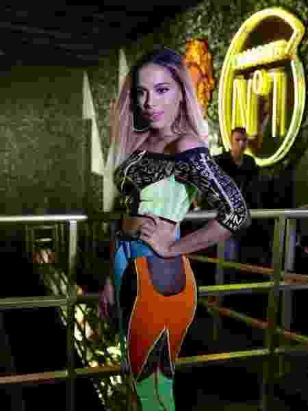Anitta é atração do camarote CarnaUOL RJ/N1 - Gianne Carvalho/UOL