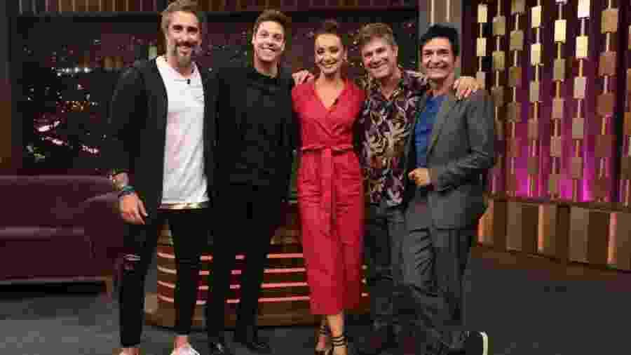 Programa do Porchat reúne ex-VJs da MTV Sabrina, Edgard, Max Fivelinha e Marcos Mion - Divulgação