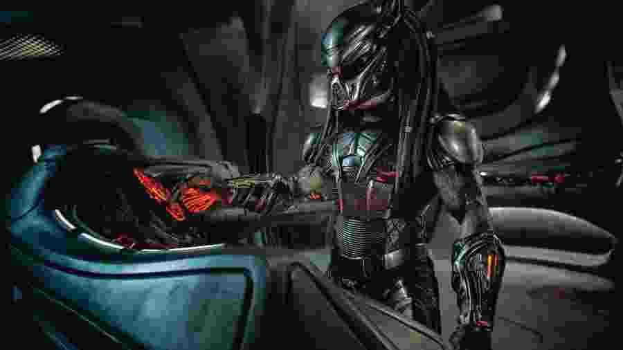 """Cena de """"O Predador"""", que estreia no dia 13 de setembro - Divulgação"""