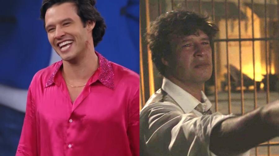"""Nando Rodrigues na """"Dança dos Famosos"""" e em """"Orgulho e Paixão"""" - Reprodução/Globo"""