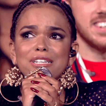 """Jeniffer Nascimento vence o """"PopStar"""" e se emociona - Reprodução/TV Globo - Reprodução/TV Globo"""