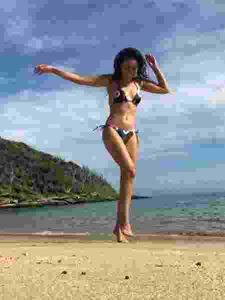 Claudia Ohana curte dia de praia - Reprodução/Instagram