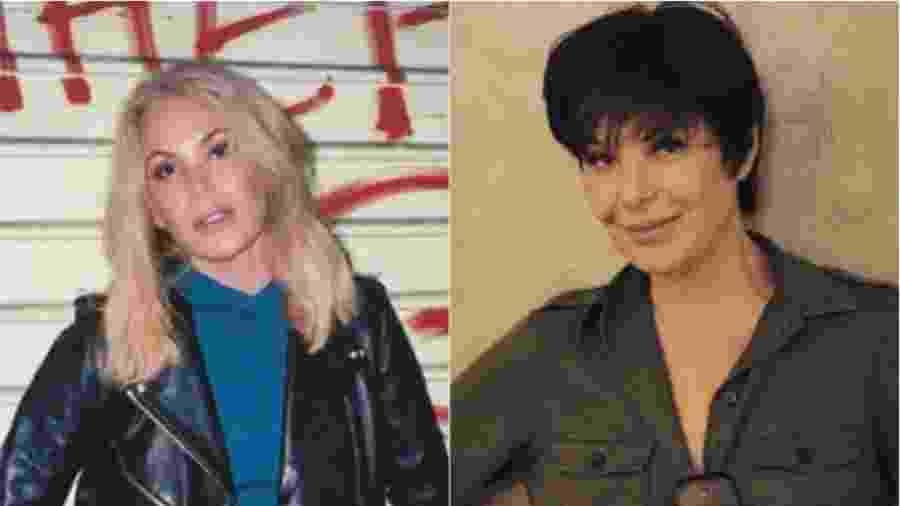 Antes e depois de Carolina Ferraz - Reprodução/Instagram