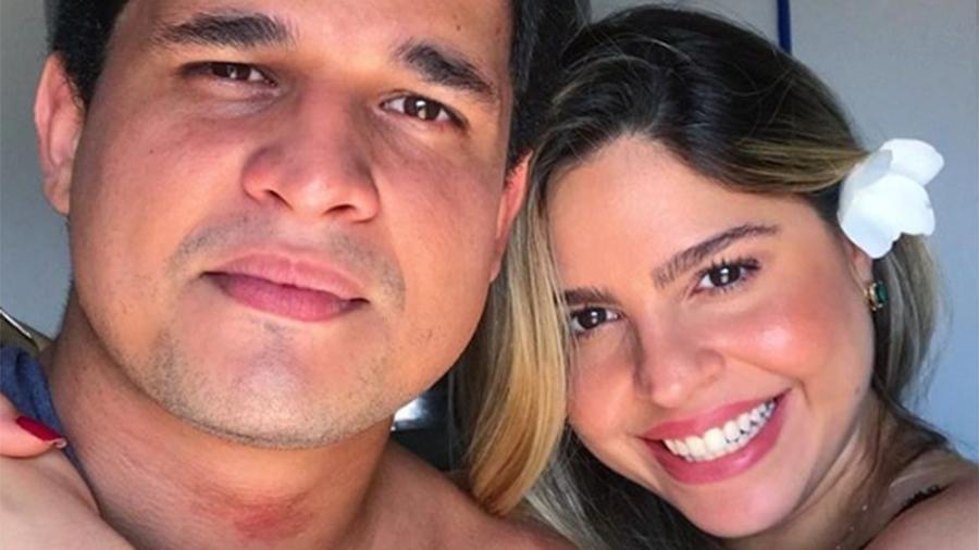 Kaio Cezar e a mulher Mirela Forte - Reprodução/Instagram