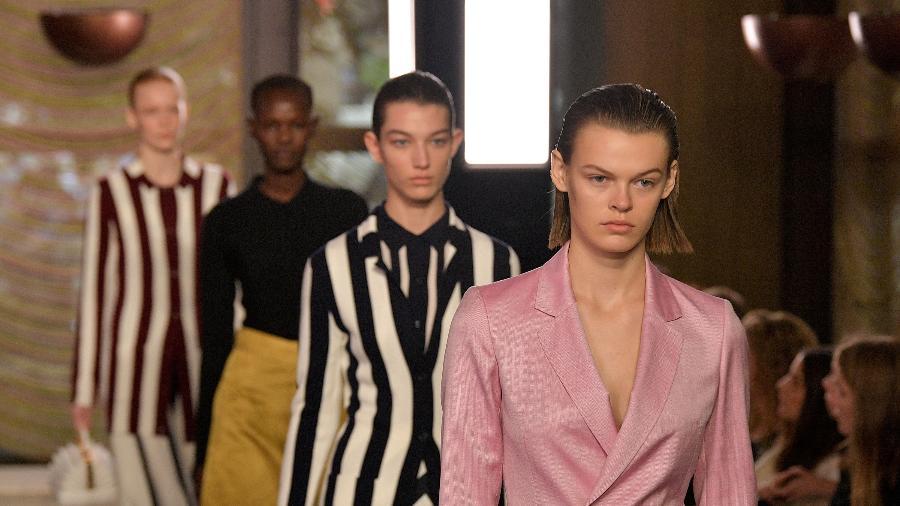 Desfile da estilista Gabriela Hearst na Semana de Moda de Nova York - Getty Images