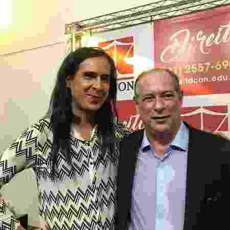 Duda Salabert e Ciro Gomes em debate em Contagem, Minas Gerais - Reprodução/Instagram