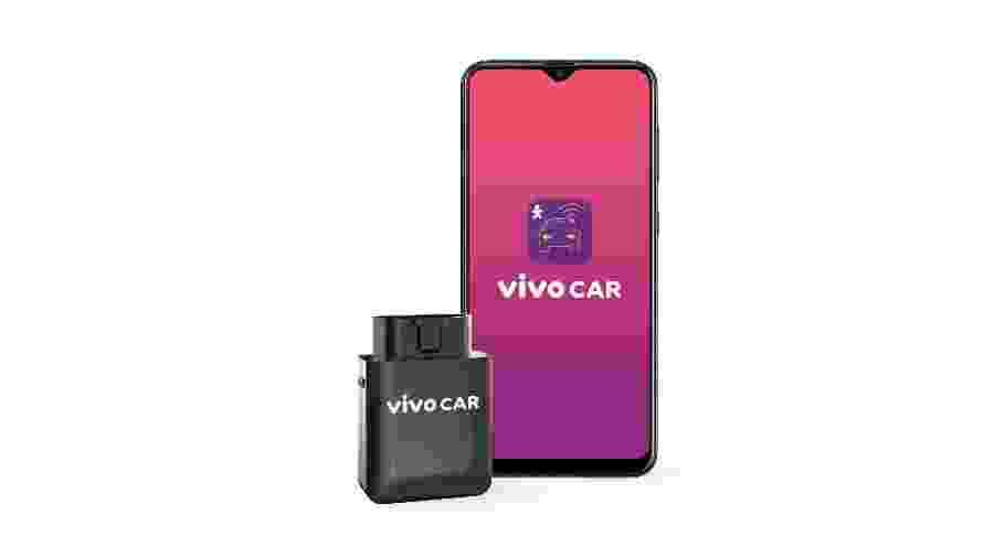 Dispositivo conectado à porta OBD agrega chip com plano de dados, localização GPS e roteador Wi-Fi; operação é por aplicativo - Divulgação