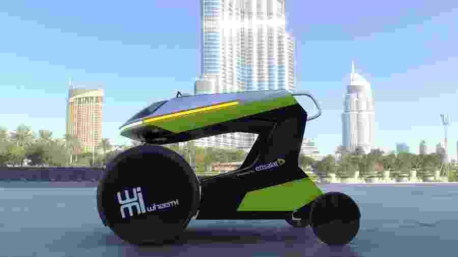 WheeM-i, veículo de compartilhamento urbano para cadeirantes - Divulgação