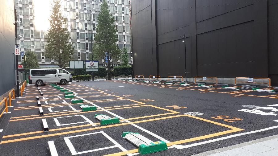 Estacionamento no Japão - Vitor Matsubara/UOL