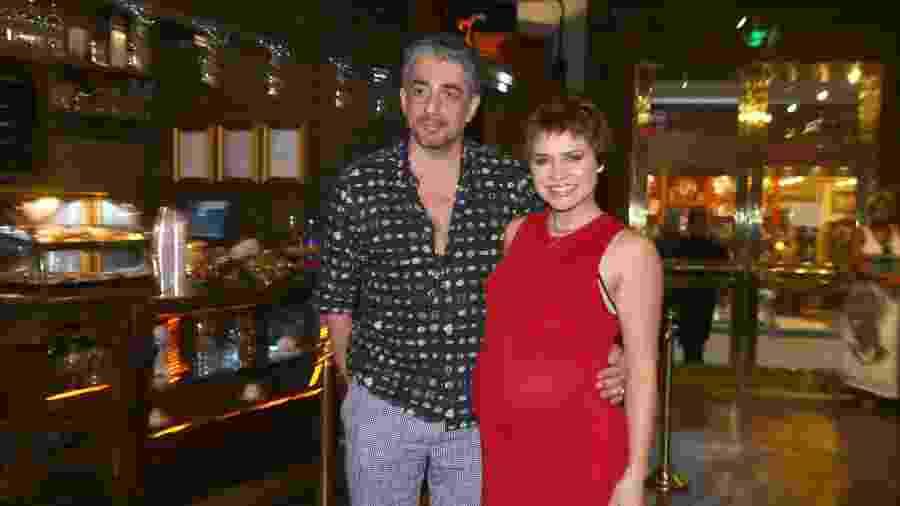 Letícia Colin com o marido Michel Melamed - Anderson Borde / AgNews