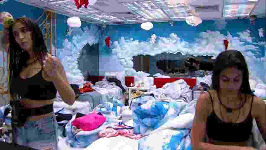 BBB 20 - Bianca conversa com Mari no quarto céu - Reprodução/Globoplay