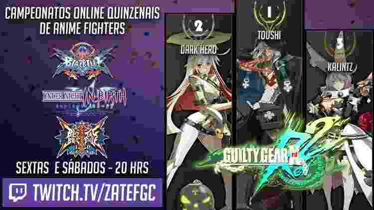 Jogue com os melhores do Brasil na categoria anime fighter - Reprodução - Reprodução