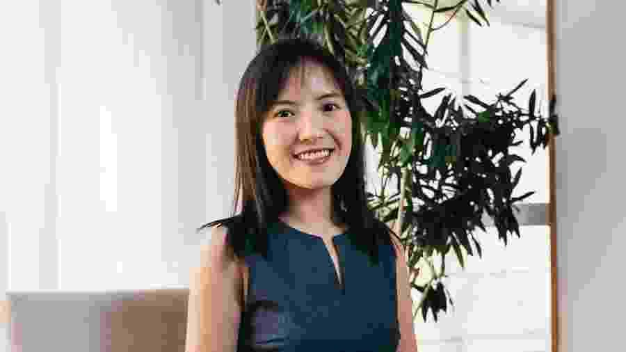 A chinesa Beibei Liu: depois da primeira quarentena em Pequim, agora passa pelo isolamento social em São Paulo - Fernando Eiji Kikuchi/Divulgação