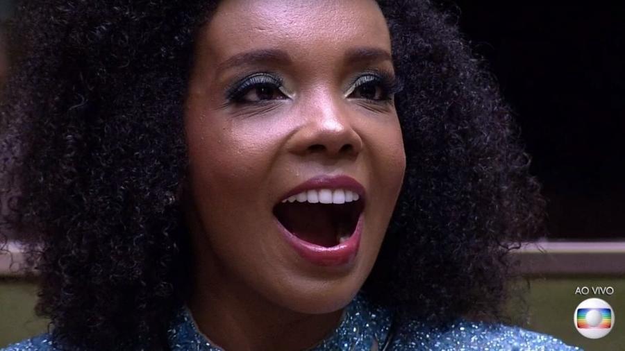 """Thelma na final do """"BBB 20"""" - Reprodução/TV Globo"""