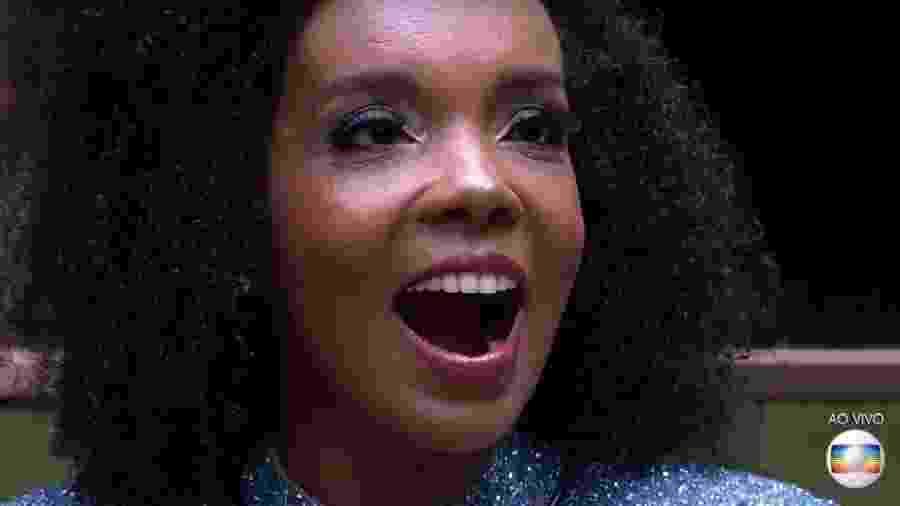 """Thelma Assis no """"BBB 20"""" - Reprodução/TV Globo"""