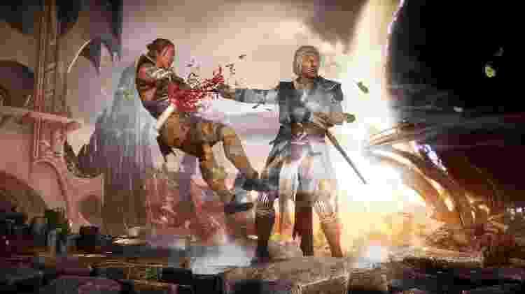Mortal Kombat 11 Fujin - Reprodução - Reprodução