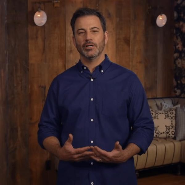 "Jimmy Kimmel durante o programa ""Jimmy Kimmel Live!"""