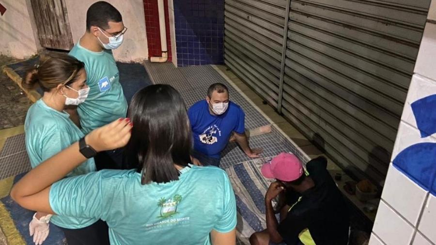 Medidas básicas de isolamento social, higiene e confinamento não se aplicam à população de rua - Arquivo pessoal