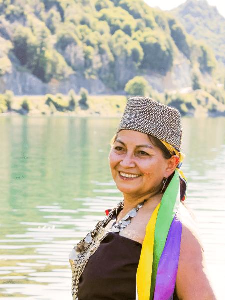 A professora universitária Elisa Loncon Antileo, 58, foi uma das 17 indígenas eleitas no último dia 16 de maio para compor a Assembleia que vai escrever a nova Constituição do Chile. - Leslie Beach Olate/Divulgação