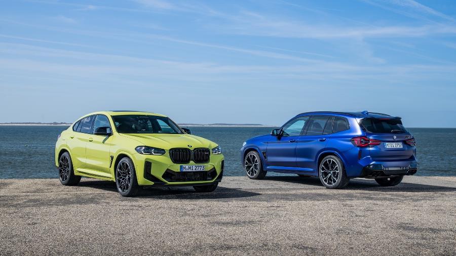 BMW X3 M e X4 M - Divulgação