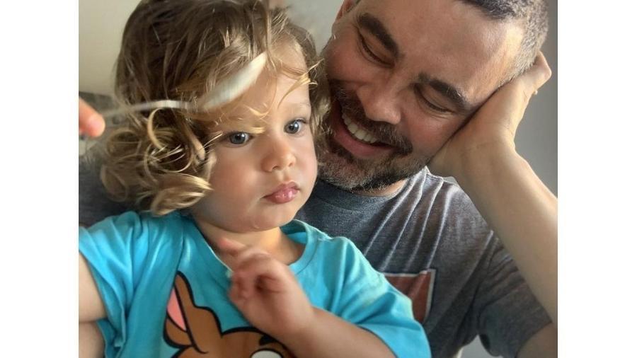 Carmo Dalla Vecchia se declara para o filho - Reprodução/Instagram