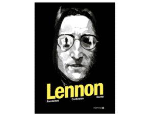 Lennon, Foenkinos - Divulgação - Divulgação