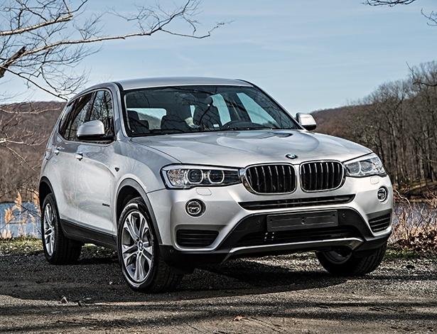 BMW X3 brasileiro tem o mesmo visual que o atual modelo europeu (foto) - Divulgação