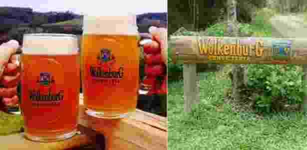 Cervejaria artesanal Wolkenburg, em Cunha (SP) - Divulgação - Divulgação
