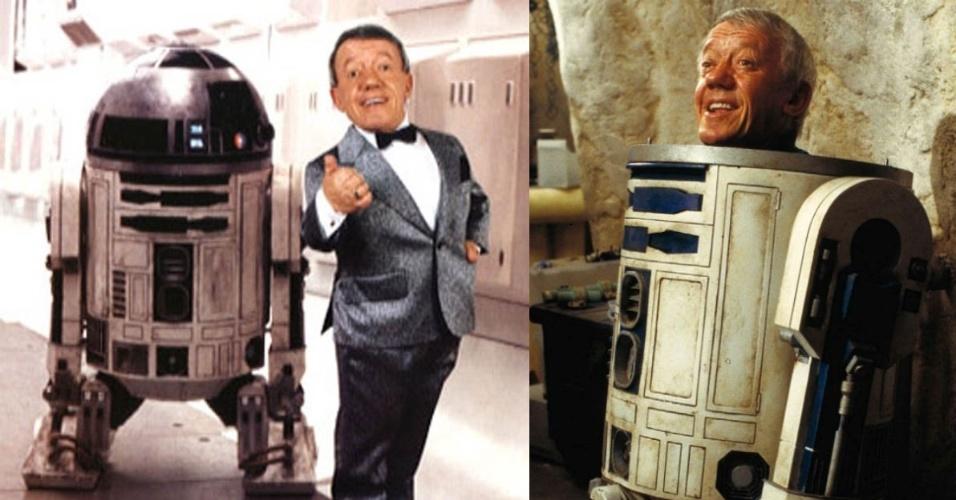 "O ator Kenny Baker, o R2-D2 de ""Star Wars"""