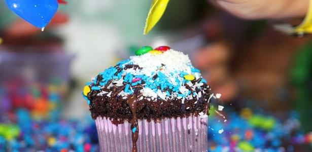 Oficina de cupcake da Fit Park Academia - Divulgação