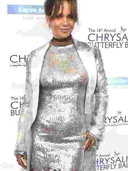 Halle Berry no Chrysalis Butterfly Ball - Getty Images