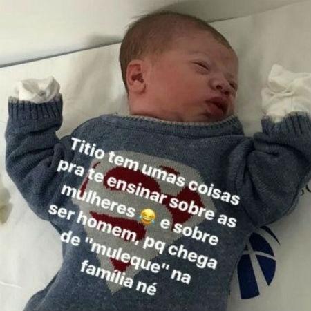 Filho de Gusttavo Lima e Andressa Suita - Reprodução/Instagram