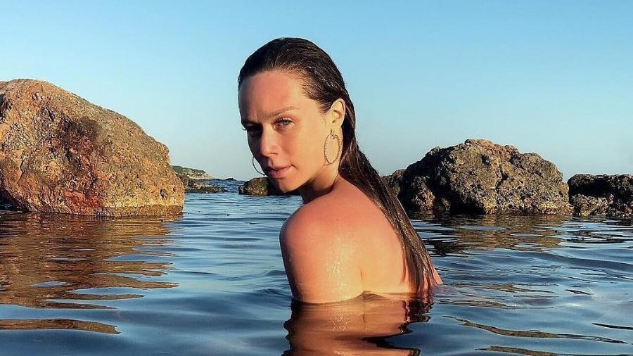 Mariana Ximenes em mar de Formentera, na Espanha - Reprodução/Instagram