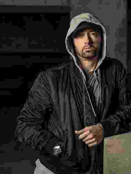 O rapper americano Eminem - Divulgação - Divulgação