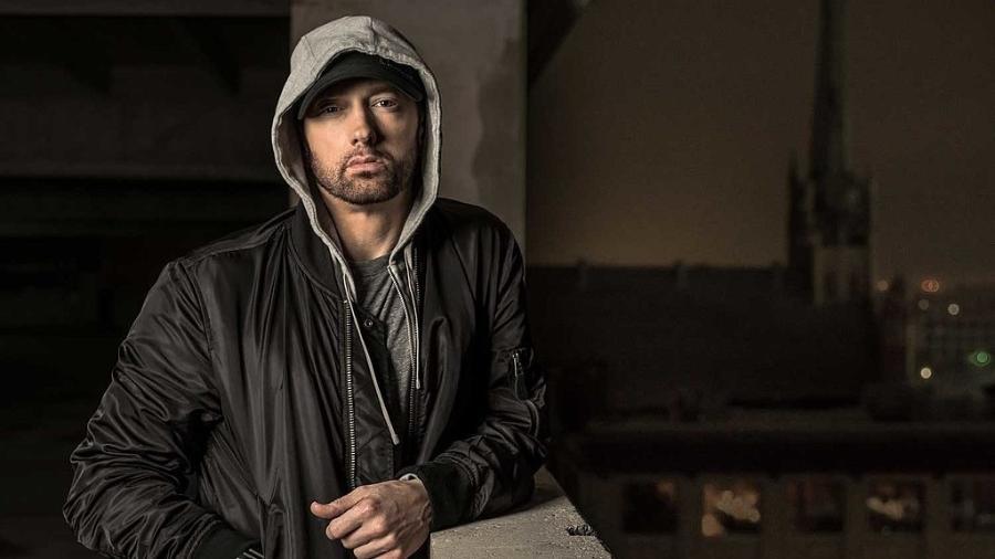 O rapper americano Eminem - Divulgação