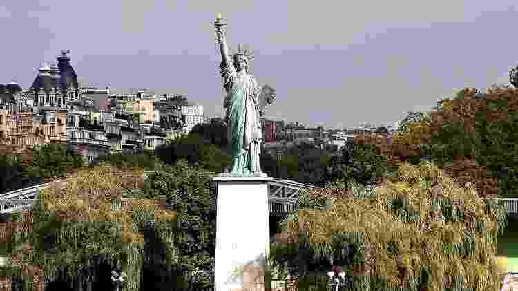 Estátua da Liberdade em Paris - Jean-François Gornet/www.flickr.com/photos/jfgornet/4289551017 - Jean-François Gornet/www.flickr.com/photos/jfgornet/4289551017