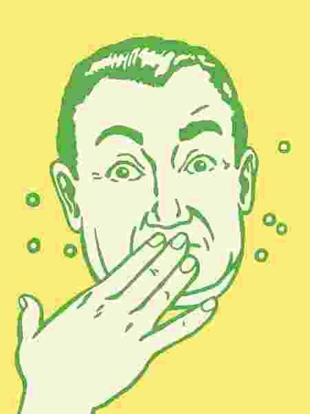 Ops, a má digestão pode causar arrotos - iStock