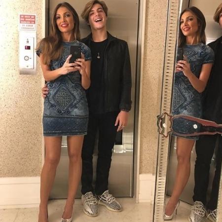 Patrícia Poeta com o filho, Felipe Poeta - Reprodução/Instagram
