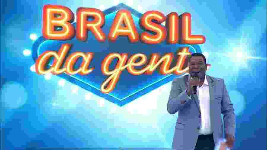 """Netinho estreia na Band com """"Brasil da Gente"""" - Reprodução"""