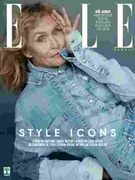 Lauren Hutton na Elle - Henrique Gendre (SD MGMT)